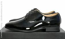 Mens Black Patent Oxford tie lace up Wedding uniform Dress shoe 6 7 8 9 10 11 12
