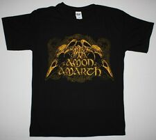 AMON AMARTH SKULL VIKING DEATH METAL OPETH TURISAS S-XXL NEW BLACK T-SHIRT