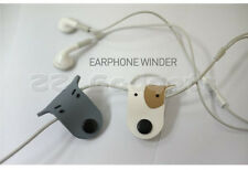 Dog Earphone Earbud Headphone Cord Cable Winder Rubber Winder Manager Wrap