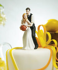 Basketball Dream Team Couple Sports Wedding Cake Topper CUSTOMIZATION available