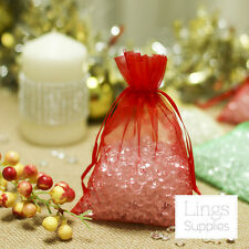 200pcs Sheer Organza Wedding Party Favor Decoration Gift Candy Pouch Bags 3 Size