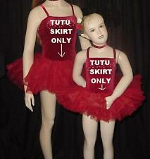 ENCORE 4 Graduated Layers Ballet TUTU ONLY Dance Costume Fits Child L to Adult L