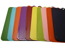 2 Sides Hygienic Kitchen Slicing Cutting Chopping Boards Multi-Color Mat Plastic