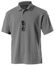 TACTICAL POLO SHIRT, PEN POCKET, MIC LOOP, 3 BUTTON PLACKET S M L XL 2X 3X 4X 5X