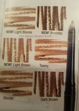 NEW AVON GLIMMERSTICK BROW DEFINER IN BLONDE, DARK BROWN & SOFT BLACK BOXED