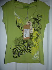 OXBOW Light Green Ayala ARTWORKS T-Shirt NWT