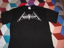 nifelheim logo t shirt black metal death mutilation 1349 blasphemy beherit
