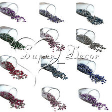 4.5mm Diamond Table Confetti Wedding Party Scatter Decoration CRYSTAL 1/3ct