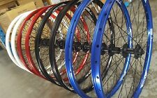 "Halo T2 DISC Wheels PAIR (Front + Rear) Shimano Disc Hubs (26"") Mountain Bike"