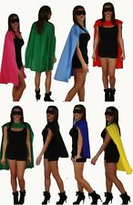 Superman Super Hero Dressing Up Capes Superheroes Costume Cape UK
