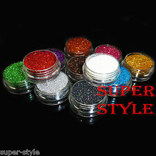 3g loose GLITTER pots face body nail art craft make-up eye shadow painting party