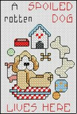 SMALL OBLONG CROSS STITCH KITS 3 DESIGNS TO CHOOSE FROM