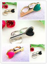 Vintage style key double finger ring multiple choices