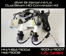 35W H4/HB2/9003 6000K 8000K 10000K Bi-Xenon Hi/Lo Dual Beam Head Light HID Kit