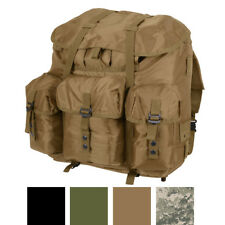 "Large Waterproof Military Alice Pack & Metal Frame, 22"" x 20"" x 19"""