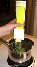 ONE CLICK BUTTER CUTTER SLICER - SLICES W/ONE SQUEEZE - DOUBLES AS BUTTER DISH