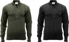 Military Acrylic 5 Button Style Tactical Sweater