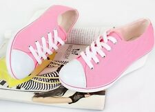 SHARIA comfortable Women Wedge Heels Laces Lovely Sneakers Shoes for Girls Cheap