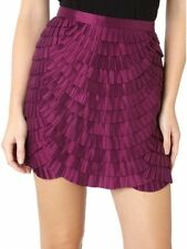 New Designer Pied A Terre Purple Skirt in Sizes 8 - 10 - 14.