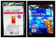 ICE CUBE BAGS 1680 / 1000 IDEAL FOR SUMMER BARBECUES PICNICS PARTIES SUMMER
