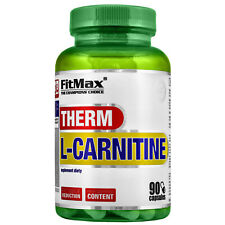 FitMax L-Carnitine Therm + Caffeine 30/60/90/180 Caps - Weight & Fat Loss Pills