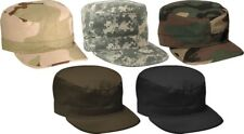 Camouflage Military Rip Stop Patrol Fatigue Cap