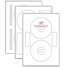 A4 Sheet Self-Adhesive CD DVD Disc Laser Printer Labels Stickers Label Planet®