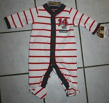 New Boys Carter's Child of Mine Striped MY FIRST VALENTINE 1 Pc Outfit ~Inf Szs