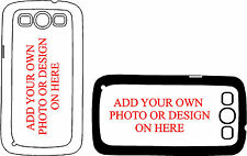 Samsung Galaxy S3 Personalised Phone Case put your own photo on it Great Gift 1D
