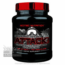 Scitec Nutrition ATTACK! 2.0 Complex Pre-Workout Creatine Booster 10, 320 & 720g