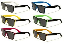 Retro Optix Sunglasses - Two Tone vintage Frame - Choose From 6 Colours