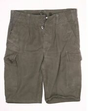 """German army issue olive fatigue shorts moleskin 30"""" to 38"""""""