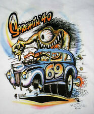 "NOS Stanley Mouse "" SCREAMIN' 40 ""  Monster SHIRT FORD Hot Rod M L XL or XXL"