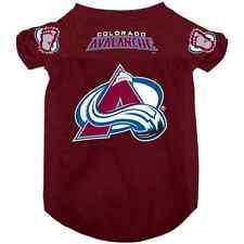 NEW COLORADO AVALANCHE PET DOG MESH HOCKEY JERSEY ALL SIZES LICENSED