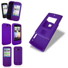 Wholesale Clearance Sale Purple Silicone Gel Skin Soft Mobile Phone Case Cover