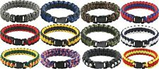 Paracord Bracelet Survival Military Para Cobra Bracelet & Buckle