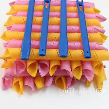 """Factory Price magic Hair Curlers Spiral Ringlet Leverage rollers 20"""""""