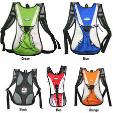 Cycling Bicycle Bike MTB Road Sport Hiking Hydration Water Bag Pouch Backpack