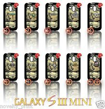 ★ ARMED FORCES AFGHANISTAN ★ SAMSUNG GALAXY S3 MINI I8190 PHONE CASE/COVER(ARMY)