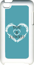 Variety of Different Colors YOU ARE LOVED iPod Touch 4th Gen 4G TPU Hard Case