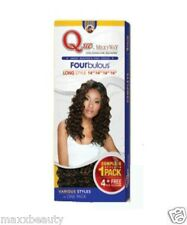 MilkyWay Que Human Hair Weave Fourbulous Long Style - Loose Deep Long 5pcs