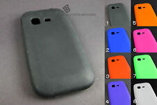For Samsung S390G Soft Case Rubber Gel Skin Cover Accessory + PryTool