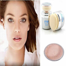 Easy Use Bare Skin Make-up 2 in 1 Face Mineral Powder Sponge Puff Facial Compact