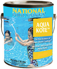 National Pool Aqua Kote Acrylic Waterbase Swimming Pool & Spa Paint-1 Gallon