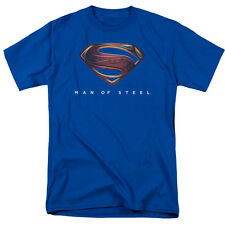 Superman MOS New Logo Hope Shield New Man Of Steel Movie 2013 Adult Shirt S-3XL