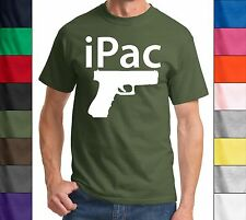 iPac - Pistol - Second Amendment,2nd,Gun Rights,Concealed Carry,Tee,T-Shirt,New