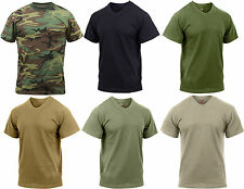 Camouflage Tactical Military Quick Drying Moisture Wicking T-Shirt