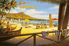 Vintage HAWAII Travel/Promotional Poster A1A2A3A4Sizes