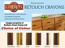 Liberon RETOUCH CRAYONS - to fill scratches in wood furniture - Choice of Colour