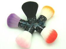 S110A-Nail Art Powder Dust Flocking Remover Brush Cheek Make Up Foundation